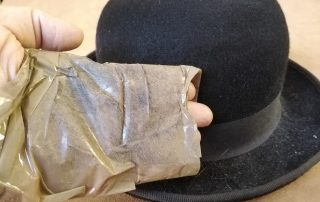 Cleaning and Buffing a Felt Hat