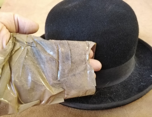 Clean and Buff a Felt Hat – Photographic 5 Step Process
