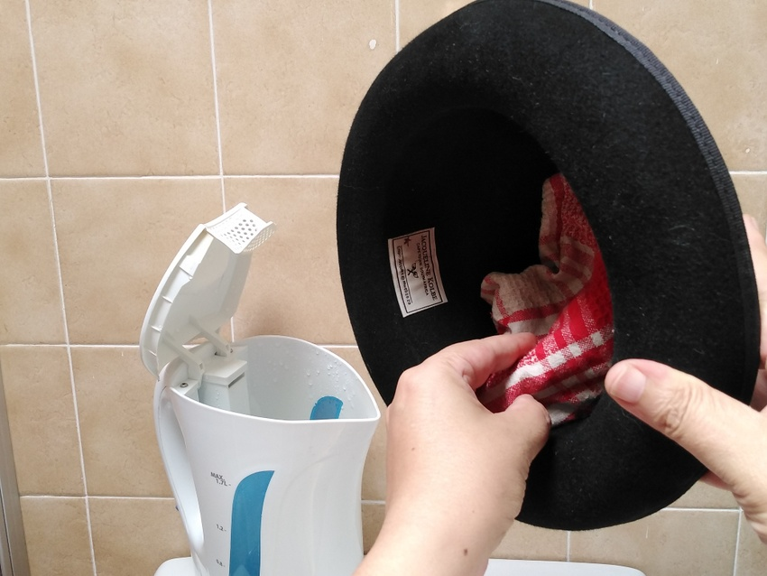 How To Remove The Dents From a Felt Hat