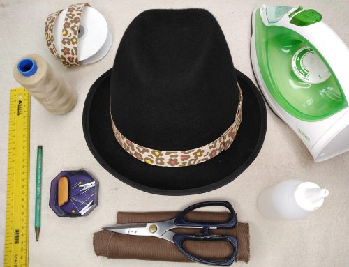 Attach a Hatband and Bow to Sit Flat Against a Hat – Tutorial